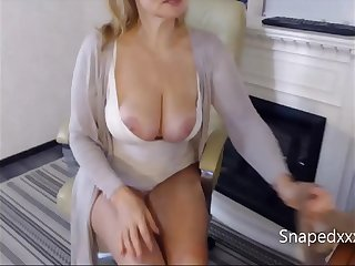 Hot MILF Stepmom on the..