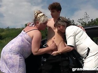 Two Grannies Just Fucked Me..