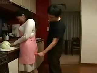 japanese son forced her mom..