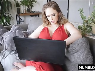 Mommy taste sons cock for..