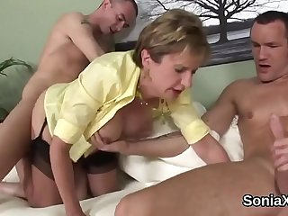 Unfaithful english milf lady..