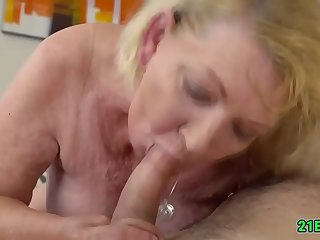Wicked grandma getting fucked