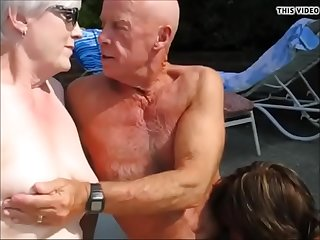 Grandpa get dick sucked by..