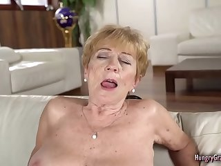 Crazy old Granny has a very..