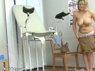 Blonde Patient Takes Her..