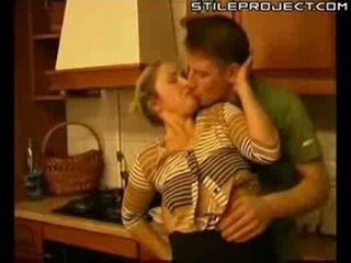 Mature woman fucked in..