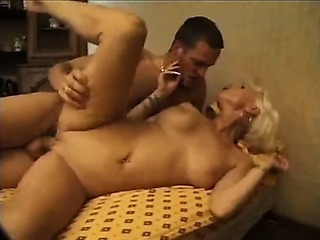 French Mature Fucks Younger..