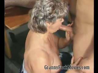 Granny party with a lot of..