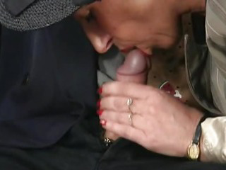Old couple fucking and sucking