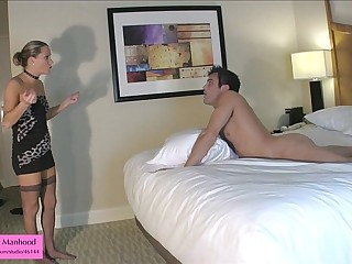Ballbusting BJ from Kinky..
