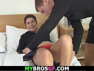 Brunette bitch cheating