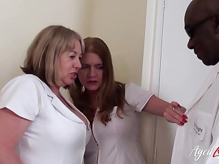 AgedLovE Two Horny Nurses..