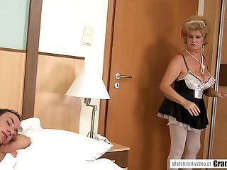 Sexy French Maid Effie Finds..